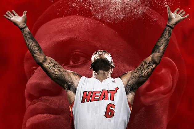 LeBron James Gets First-Ever Video-Game Cover with 'NBA 2K14'