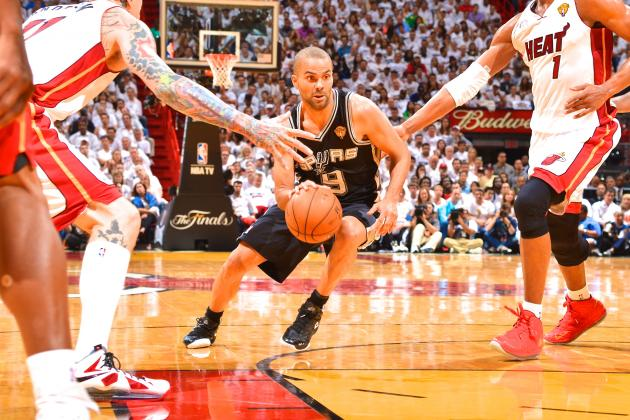 San Antonio Spurs vs. Miami Heat: Game 1 Score, Highlights and Analysis