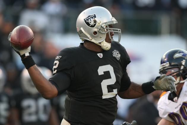 JaMarcus Russell Must Keep Comeback Momentum Going with Chicago Bears Workout