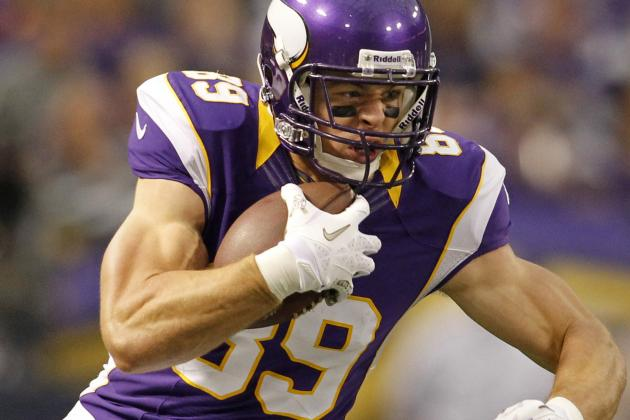 Hartman: Vikings' Carlson Looks Ahead to a Healthy 2013
