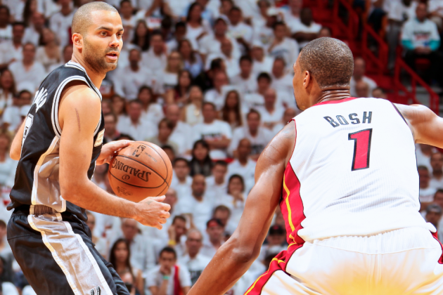 Tony Parker Exposes Miami Heat's Fatal Flaw in Game 1 of 2013 NBA Finals