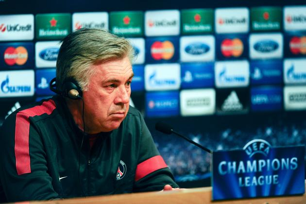 PSG Hold Firm over Ancelotti