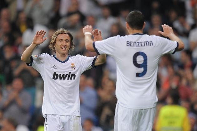 Benzema Is Zidane's Number 9