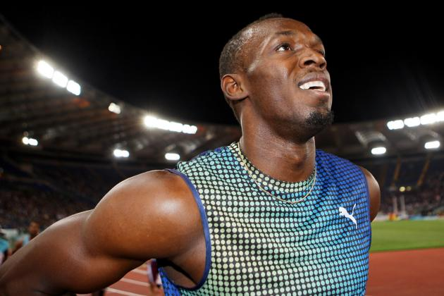 WATCH: U.S. Sprinter Stuns Usain Bolt