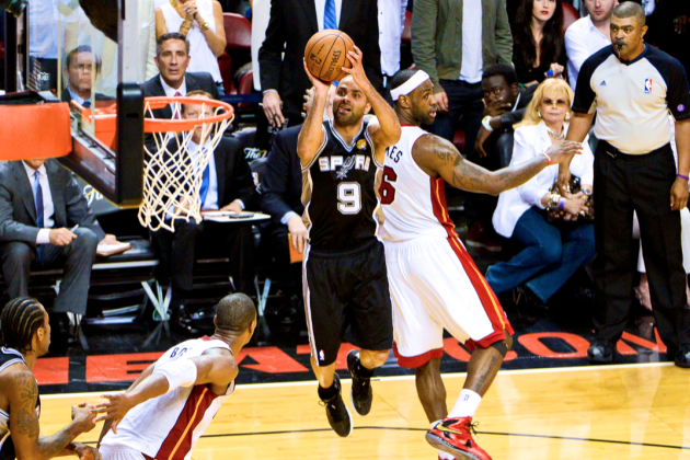 Anatomy of All-Time NBA Finals Clutch Shot by Tony Parker