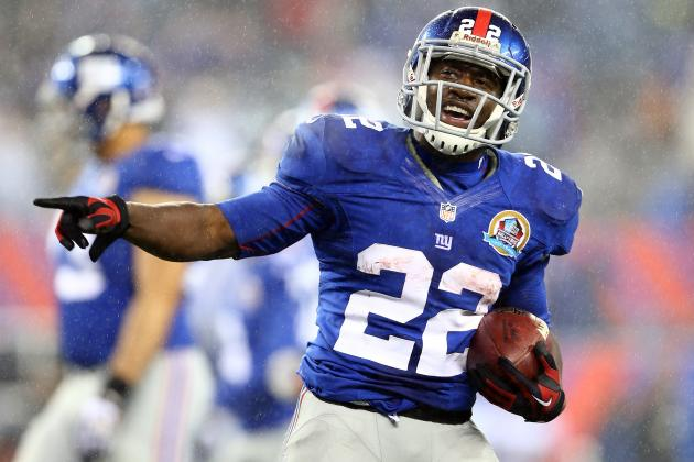 David Wilson Looking Up at Greatest New York Giants RBs in Franchise History