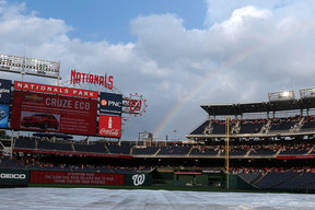 Inclement Weather Postpones Twins-Nationals