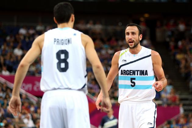 Spurs' Ginobili 'Hopes' Fellow Argentine, Knicks' Prigioni Returns to NBA