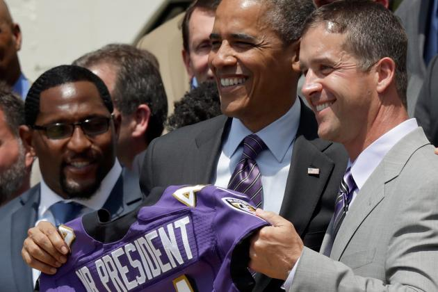 Ray Praised by Obama in White House Visit
