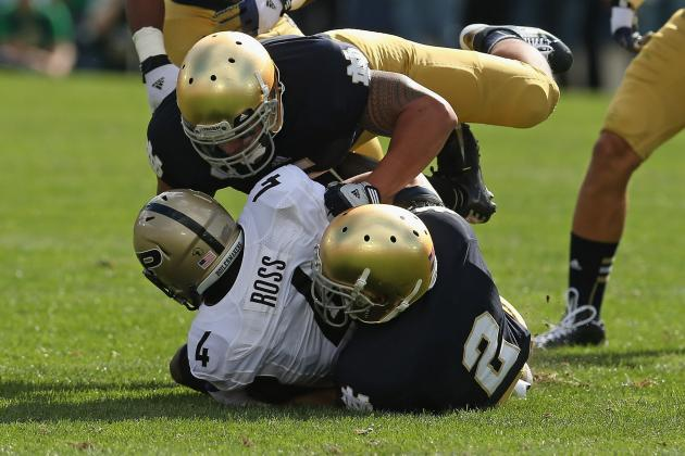 Replacing Notre Dame's Defensive Leadership