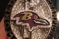 Baltimore Ravens' Super Bowl Rings Unveiled