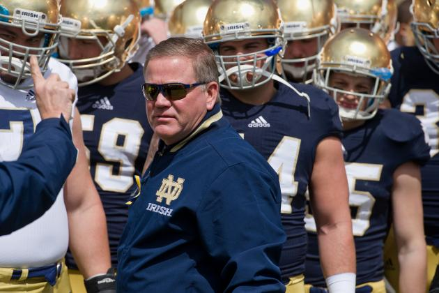 Why Brian Kelly Had to Name Tommy Rees Notre Dame's Starting QB Now