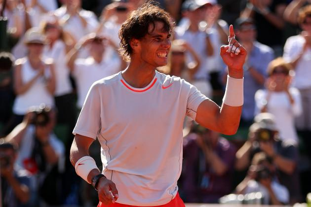 Rafael Nadal Back in Elite Form Heading into French Open 2013 Finals