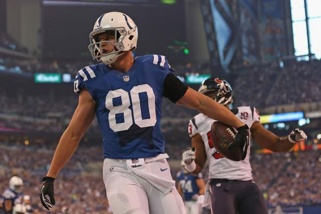 Young Colts TE Group Flourishing in Hamilton's Offense
