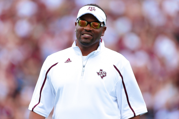 1-on-1 with Texas A&M Head Football Coach Kevin Sumlin
