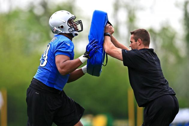 Sanders Says Lions Rookie Williams Could Move to Tackle