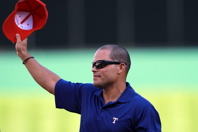 Ivan Rodriguez Elected to Rangers Hall of Fame
