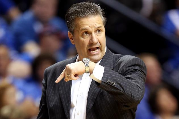 Let's Go Shot for Shot: Stacking Up Pitino, Calipari's Maker's Mark Bottles