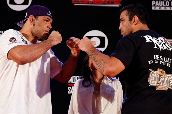 UFC on Fuel 10 Weigh-In Results for Nogueira vs. Werdum Fight Card