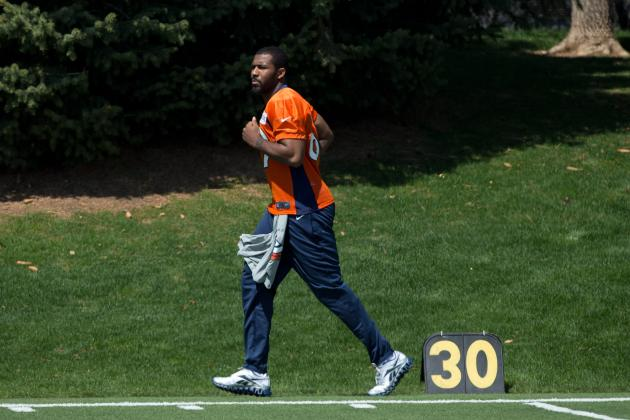 Denver Rookie Rushes Back to Field