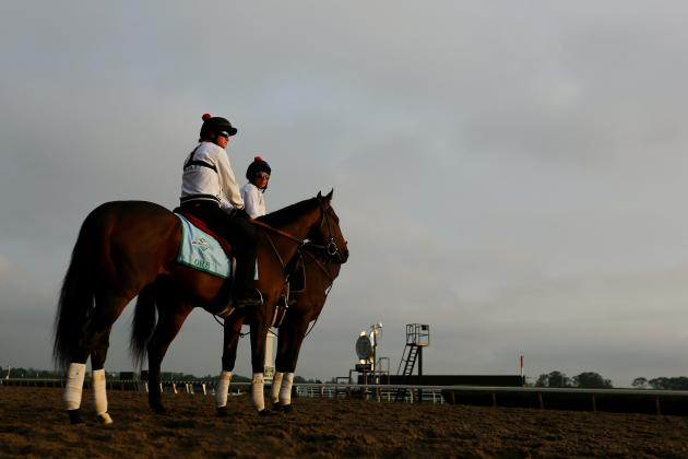 Belmont Stakes 2013: Rainy Forecast Hurts Underdogs' Chances