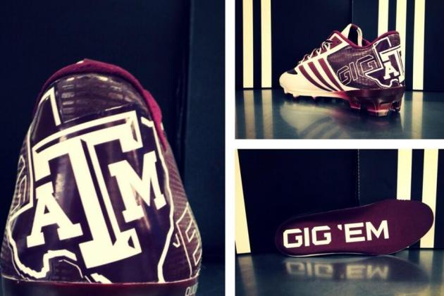 Photo: Texas A&M Will Sport Awesome New Football Cleats This Season