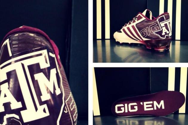 A&M Gets Sick New Cleats