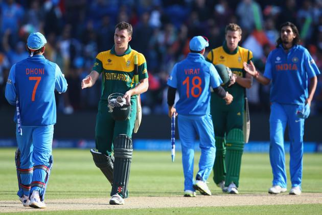 ICC Champions Trophy 2013 Results: Early Scores Show India Is Team to Beat