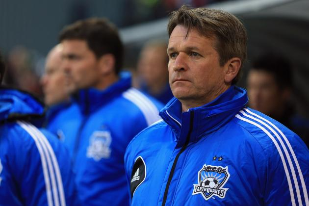 MLS: San Jose Part Ways with Manager Frank Yallop