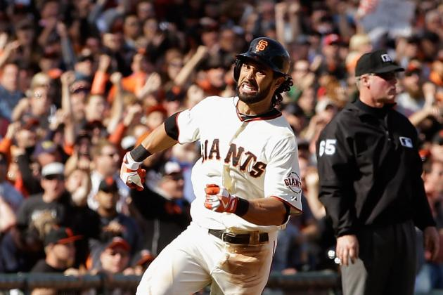 Giants Place Pagan on DL, Recall Perez