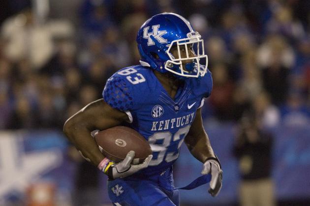 Five Kentucky Football Players Transferring