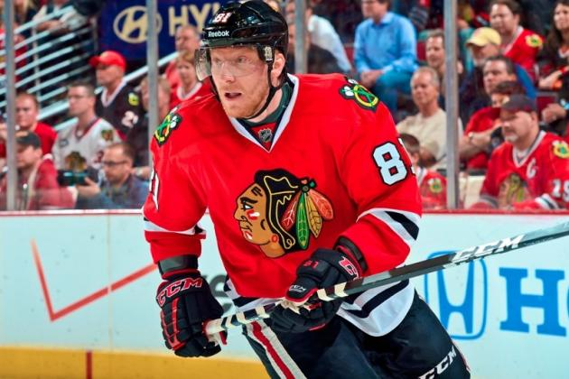 Blackhawks vs. Kings: Breaking Down Marian Hossa's Playoff Magnificence