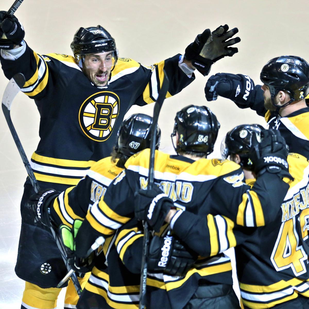 Pittsburgh Penguins Vs. Boston Bruins Game 4: Live Score
