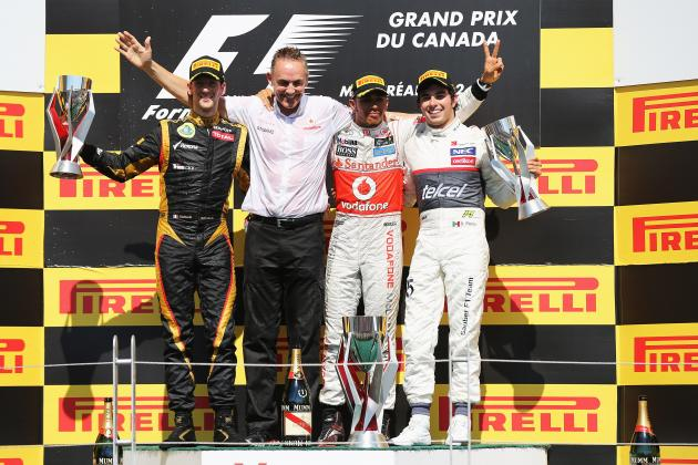 Canada F1 Grand Prix 2013: Start Time, Lineup, TV Schedule and More