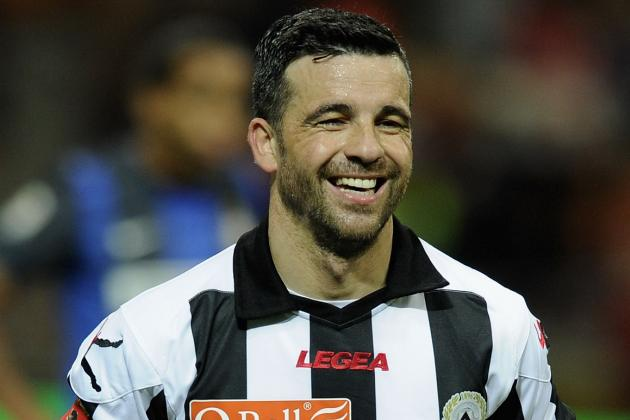 Di Natale Laughs off Juve Talk