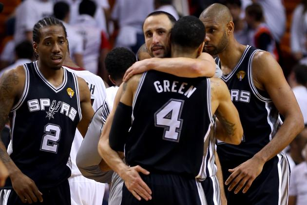 Spurs vs. Heat: San Antonio Must Win Game 2 to Win 5th Title