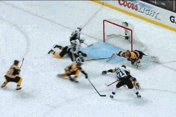 Chara Makes Clutch Glove Save