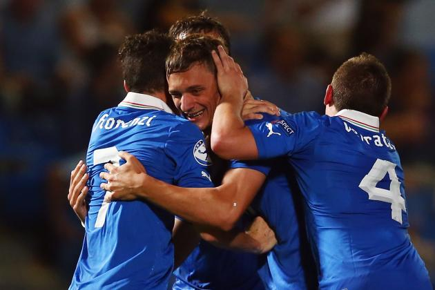 Italy vs. Israel: Score and Recap for Euro U-21 Championship Match