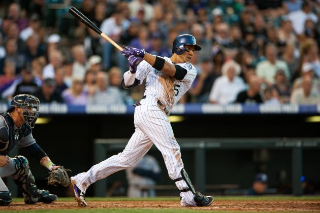 CarGo Starting vs. Padres