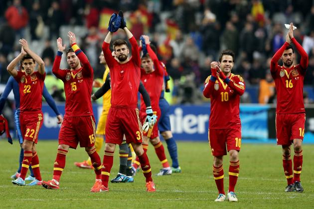 Spain vs. Haiti: Score, Grades and Post-Match Reaction