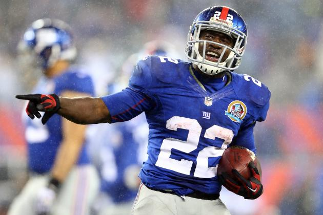 David Wilson Prepares for Lead RB Role