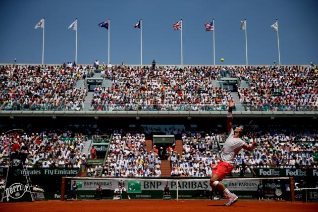 French Open 2013 TV Schedule: Viewer's Guide to Rafael Nadal vs. David Ferrer