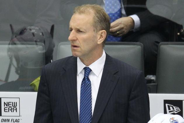 Edmonton Oilers Part Ways With Head Coach Ralph Krueger