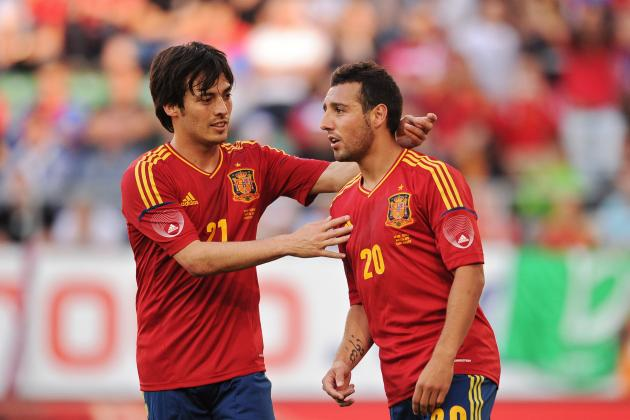 GIFs: All the Goals from Spain's Friendly Win over Haiti