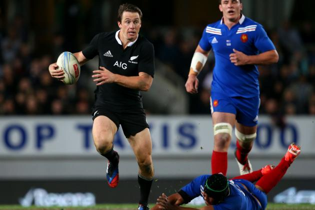 New Zealand Rugby: All Blacks Beat France in Messy Game