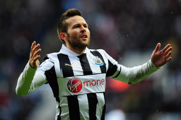 Manchester United Transfer Rumours: Yohan Cabaye Would Be Solid Summer Addition