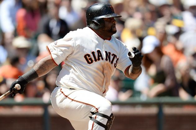 Pablo Sandoval Leaves with Foot Injury