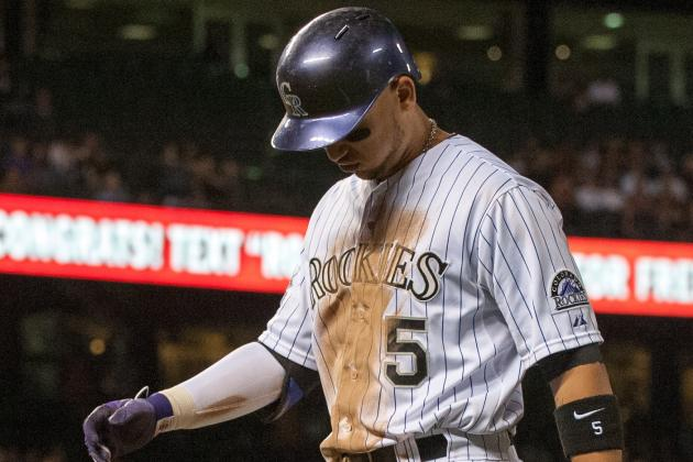 Rockies Lose to Padres as Jeff Francis Falters, Colorado Offense Sputters
