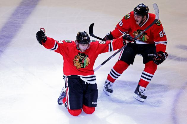 Kings vs. Blackhawks: Patrick Kane, Chicago Deliver KO Punch in 2OT Thriller