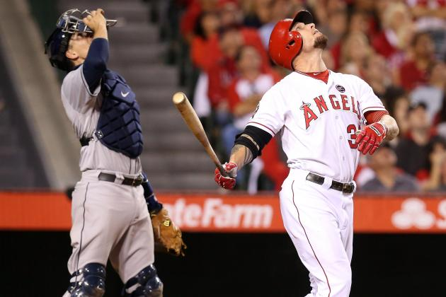 Angels Try to Spark Josh Hamilton with Lineup Move